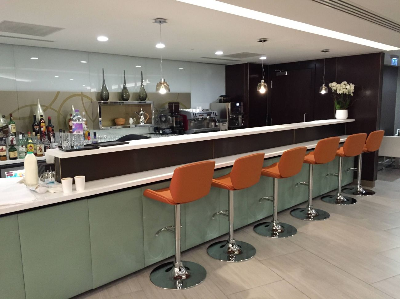 Etihad Lounge London Heathrow - Passageirodeprimeira 13
