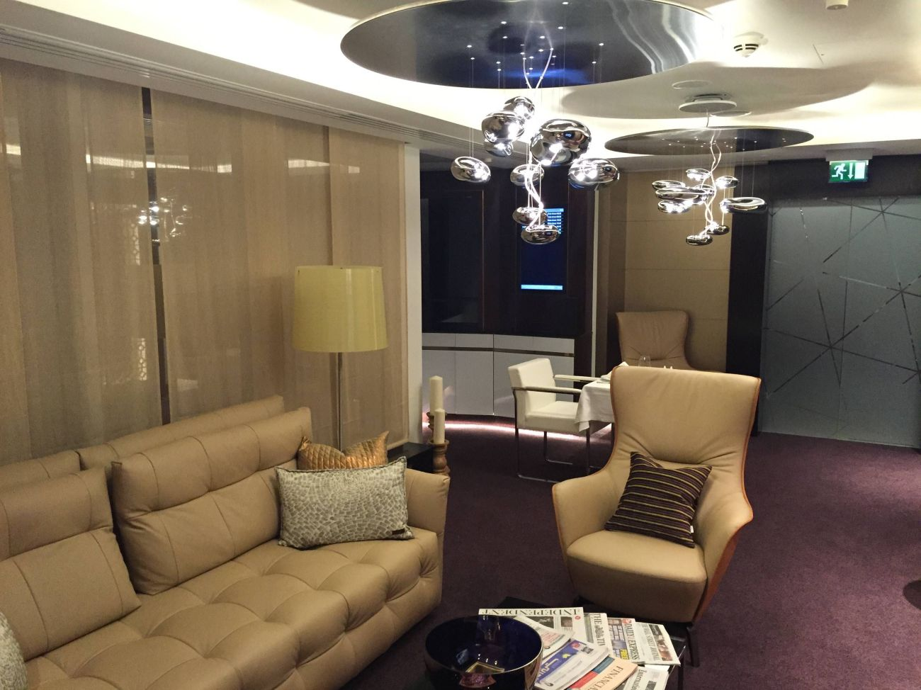 Etihad Lounge London Heathrow - Passageirodeprimeira 6