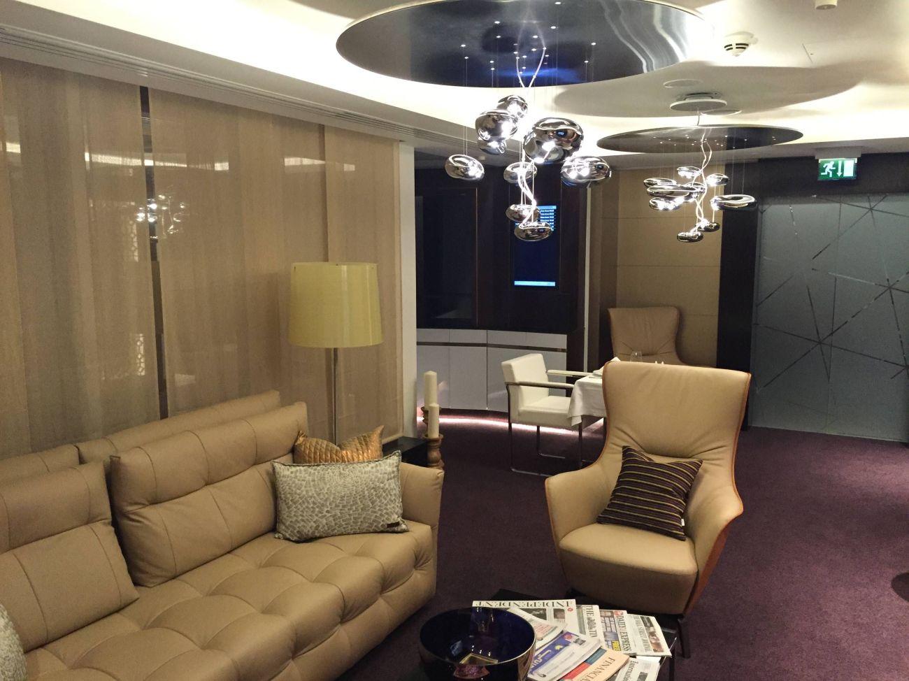 Etihad Lounge London Heathrow - Passageirodeprimeira 6