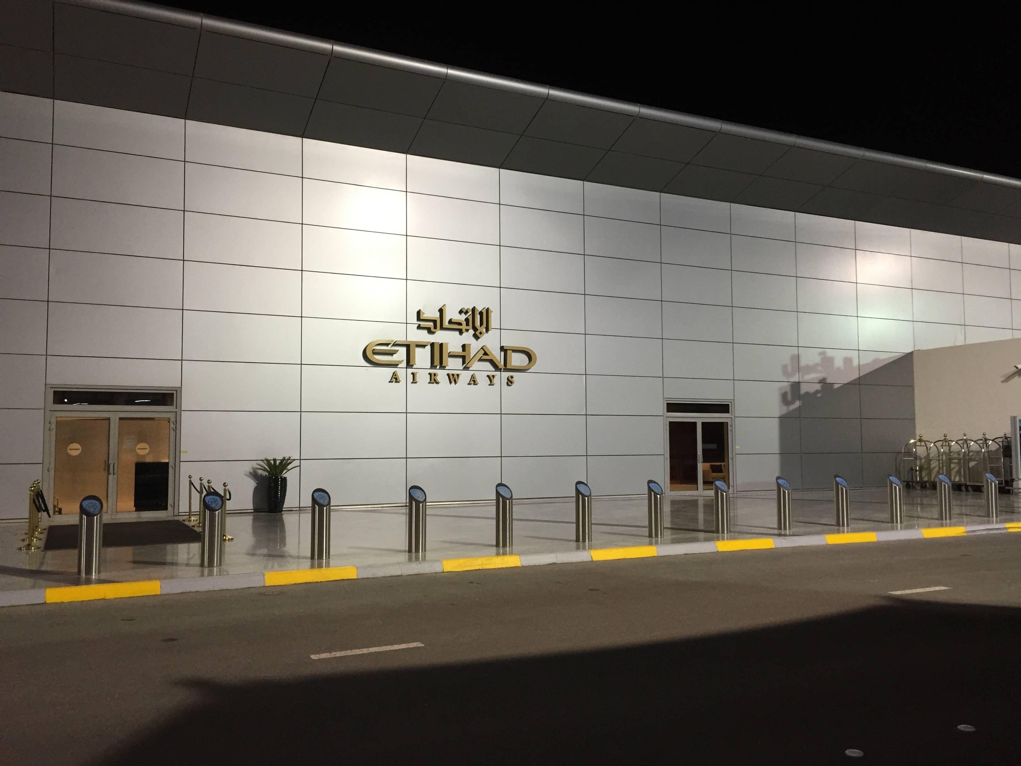 Etihad Premium Check-in Abu Dhabi Passageirodeprimeira1