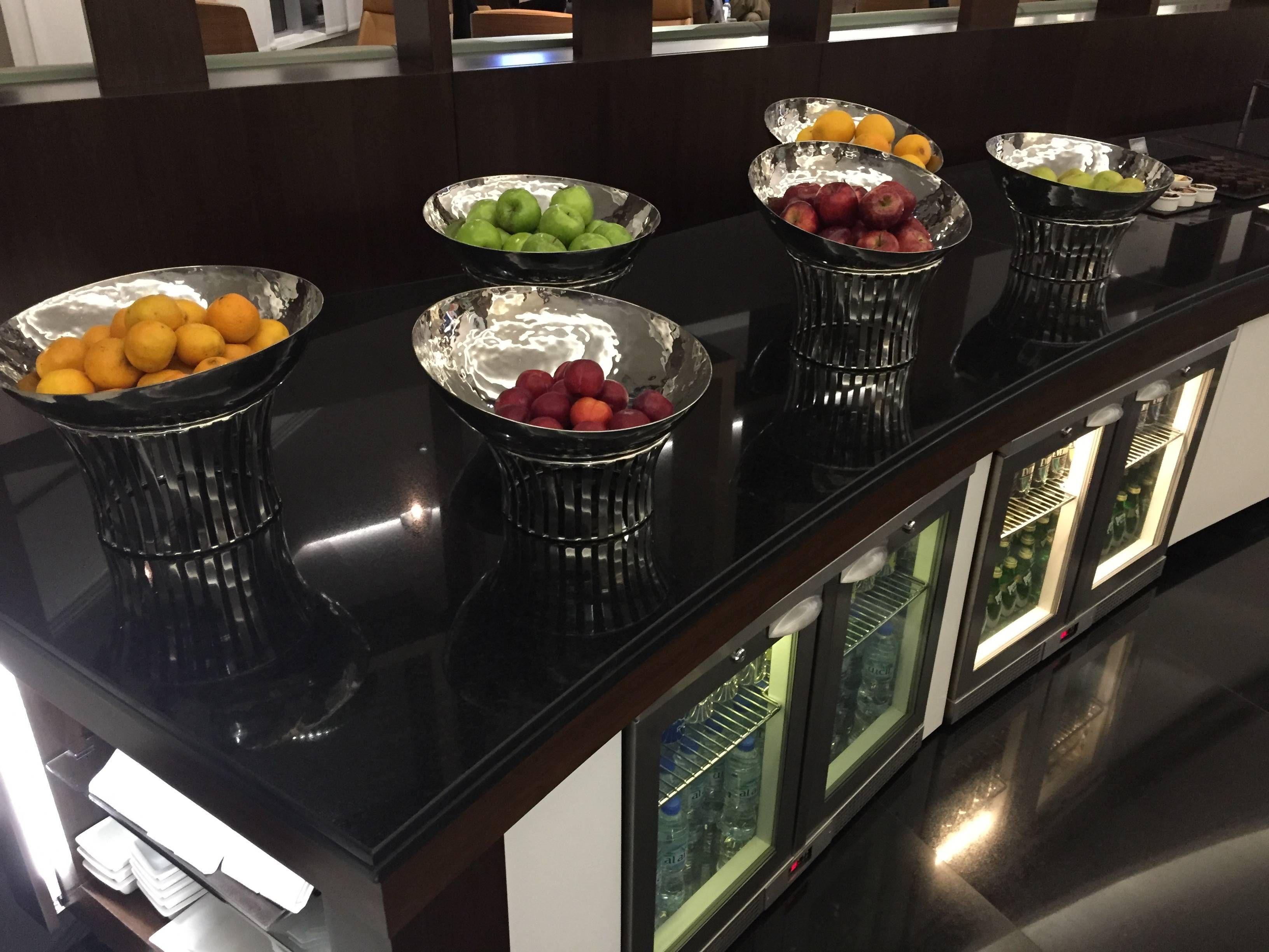 Etihad Premium Lounge Abu Dhabi - Passageiro de Primeira18