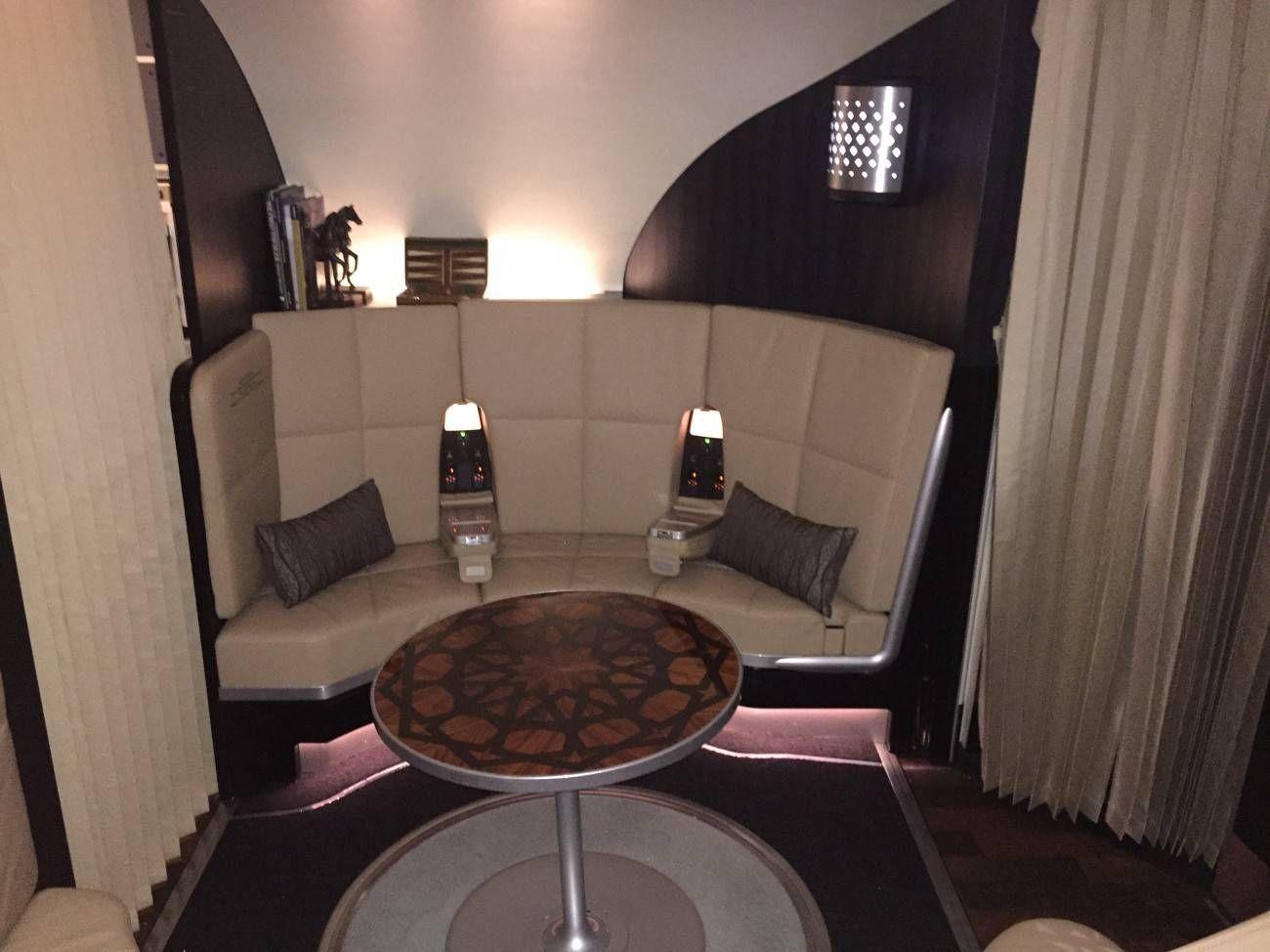 First Class Apartment A380 Etihad - PassageirodePrimeira47