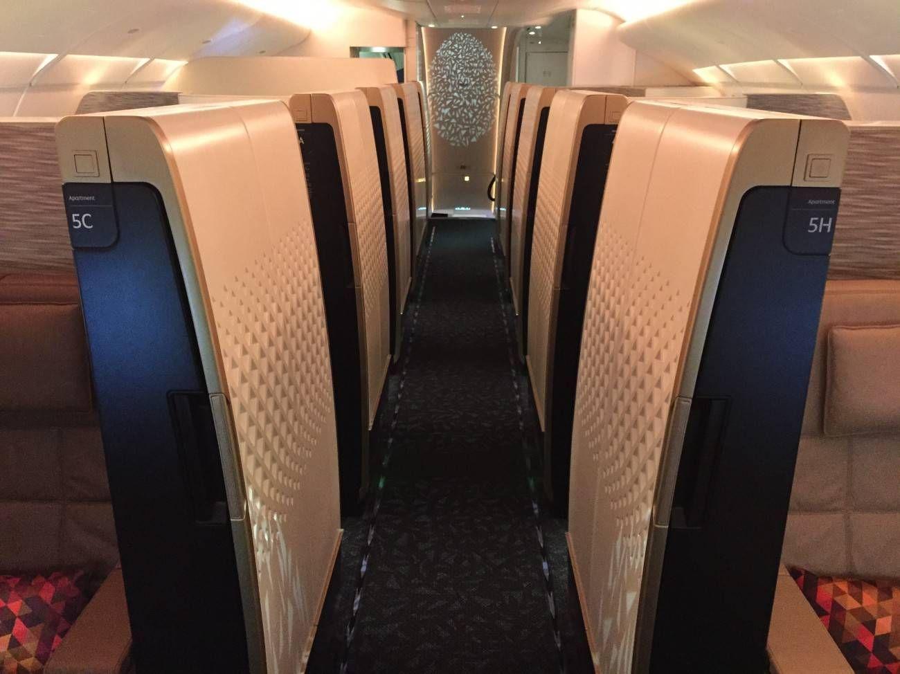 First Class Apartment A380 Etihad - PassageirodePrimeira9