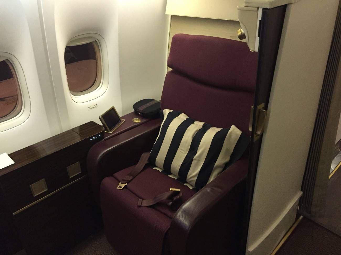 Jet Airways B777 First Class Etihad Passageiro de Primeira-01