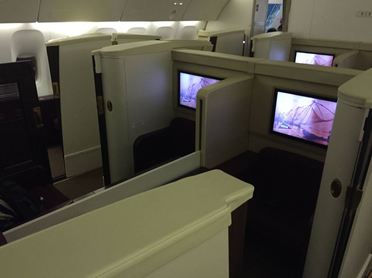 Jet Airways B777 First Class Etihad Passageiro de Primeira-18
