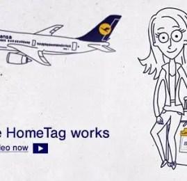 Lufthansa lança serviço de HomeTag em São Paulo