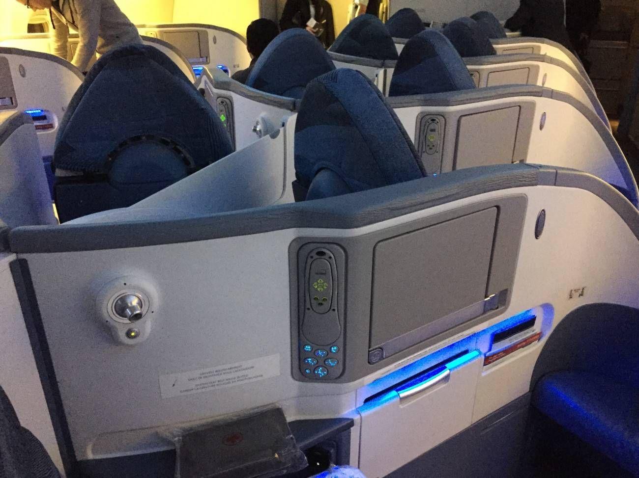 Air Canada B777 Business Class-02