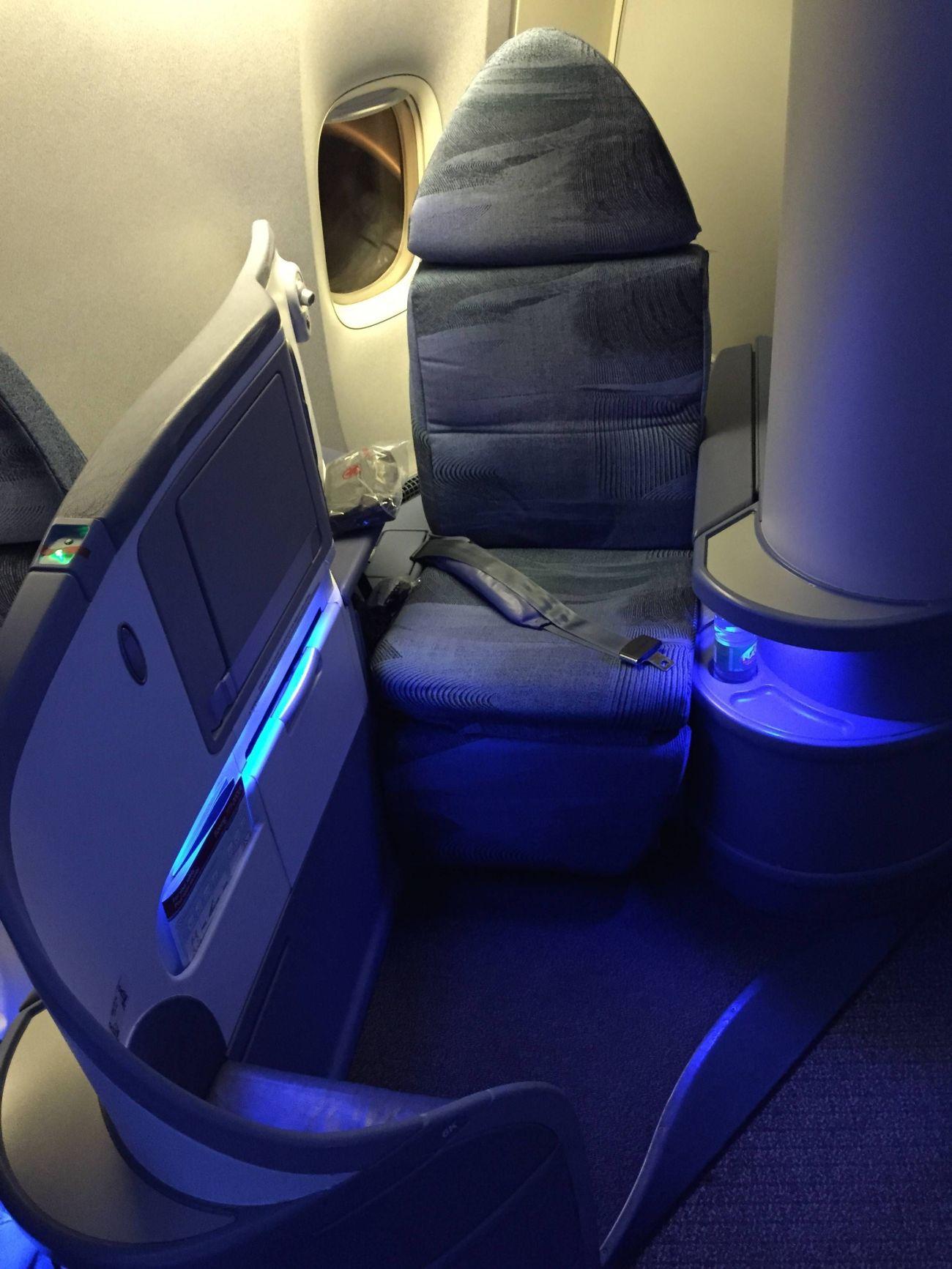 Air Canada B777 Business Class-05