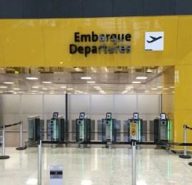 Enquanto isto no Aeroporto de Guarulhos uma nova modalidade de check-in expresso