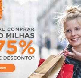 Smiles oferece 75% de desconto na compra de milhas
