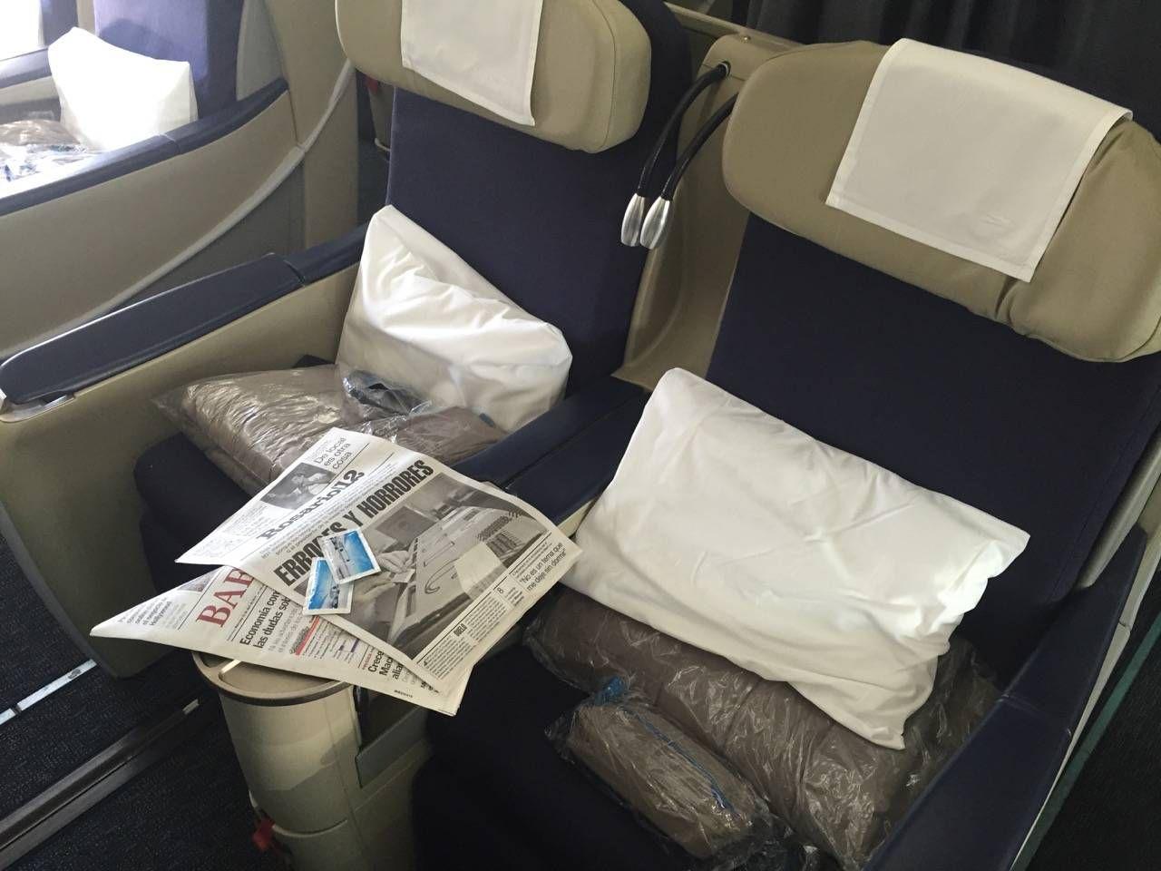 Aerolineas Argentinas Classe Executiva Business Class -08