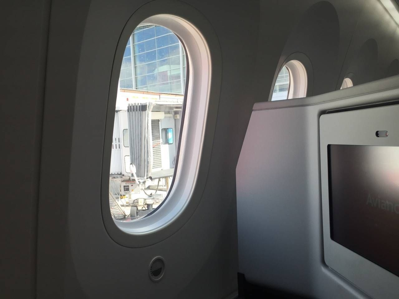 Avianca B787 Classe Executiva Business class-018