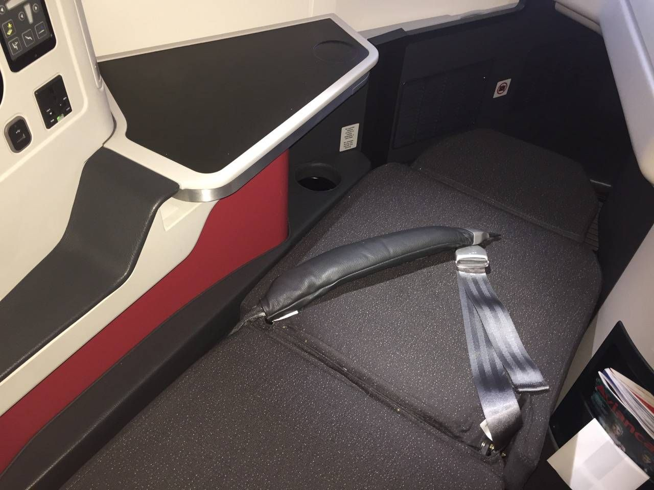 Avianca B787 Classe Executiva Business class-028