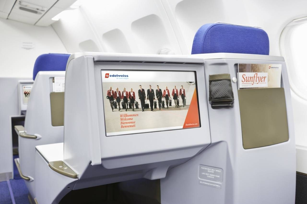 Edelweiss-Business-Class-Screen