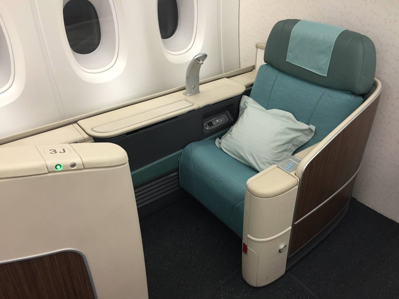korean first class a380