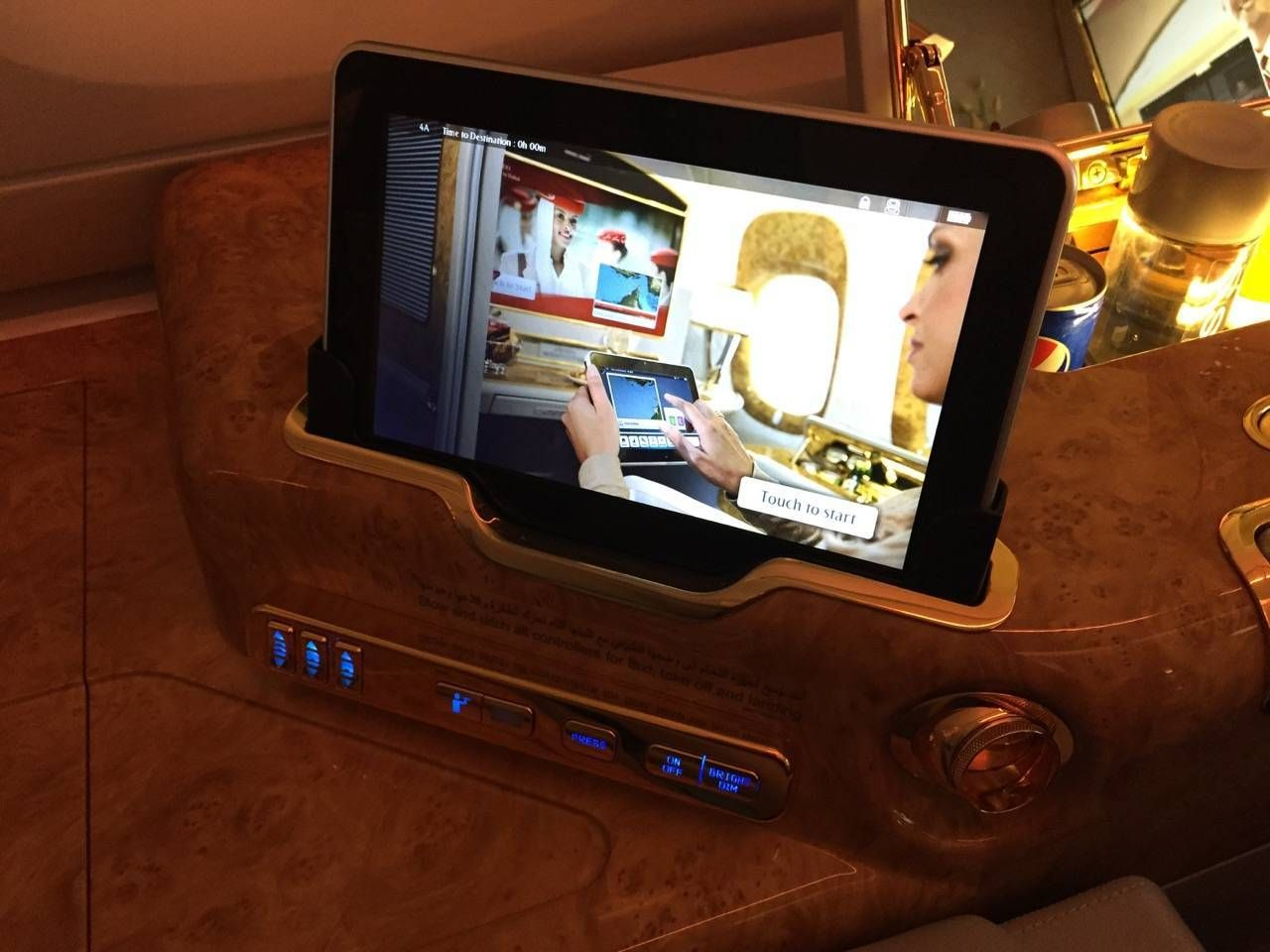 Emirates First Class A380 DXB-DFW-022
