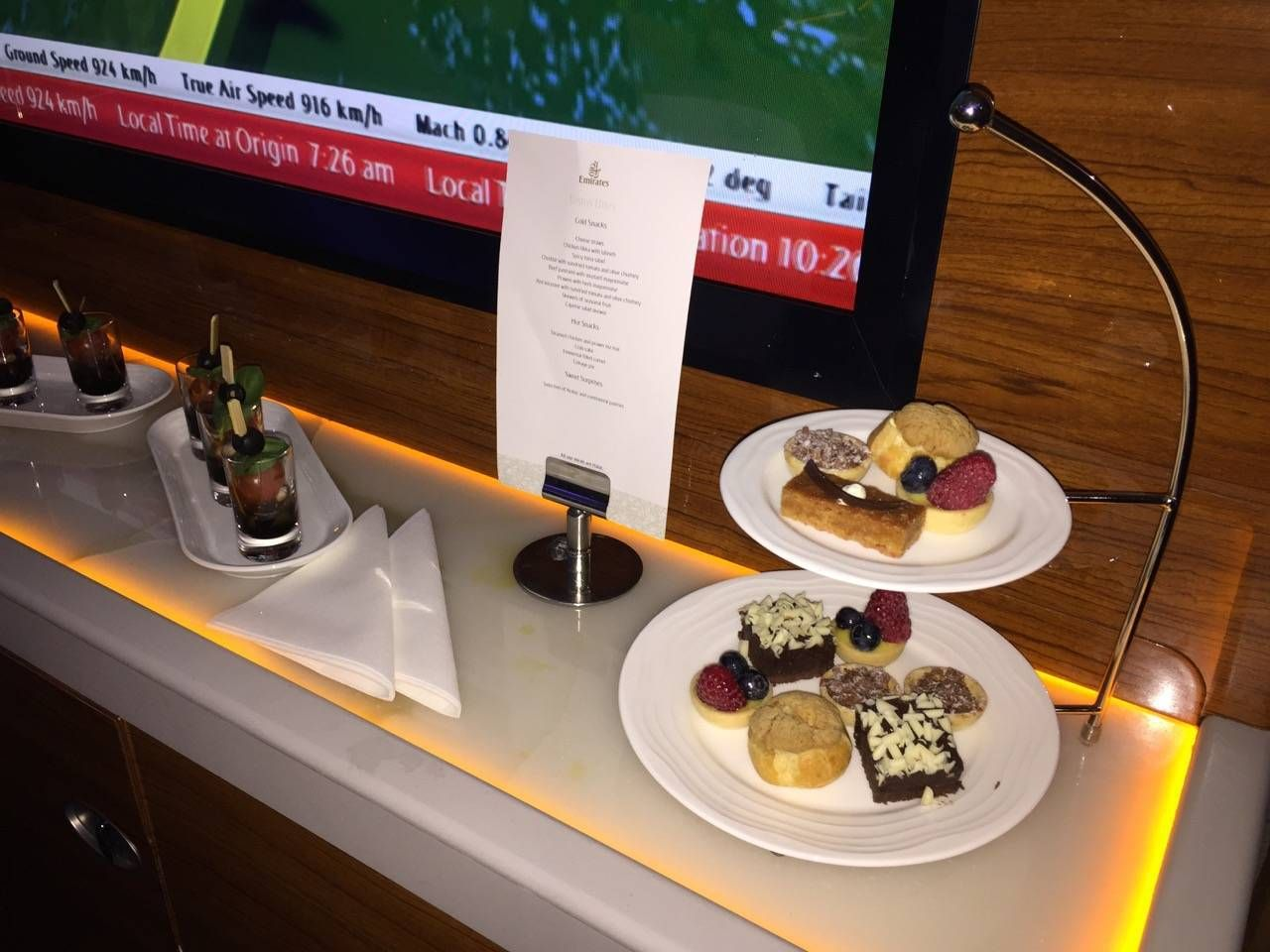 Emirates First Class A380 DXB-DFW-058