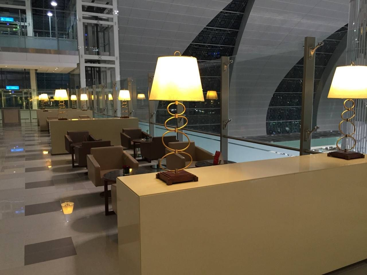 Emirates First Class Lounge Dubai -017