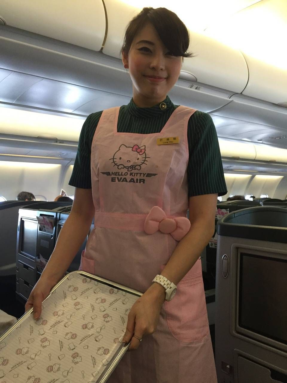Eva Air A330 Business Class Royal Lauren-039