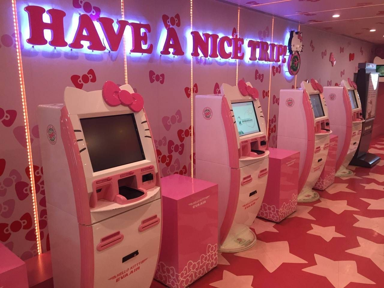 Hello Kitty Check-in2