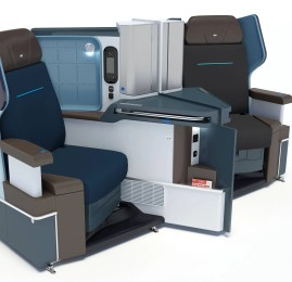 KLM apresenta sua nova classe executiva no B787