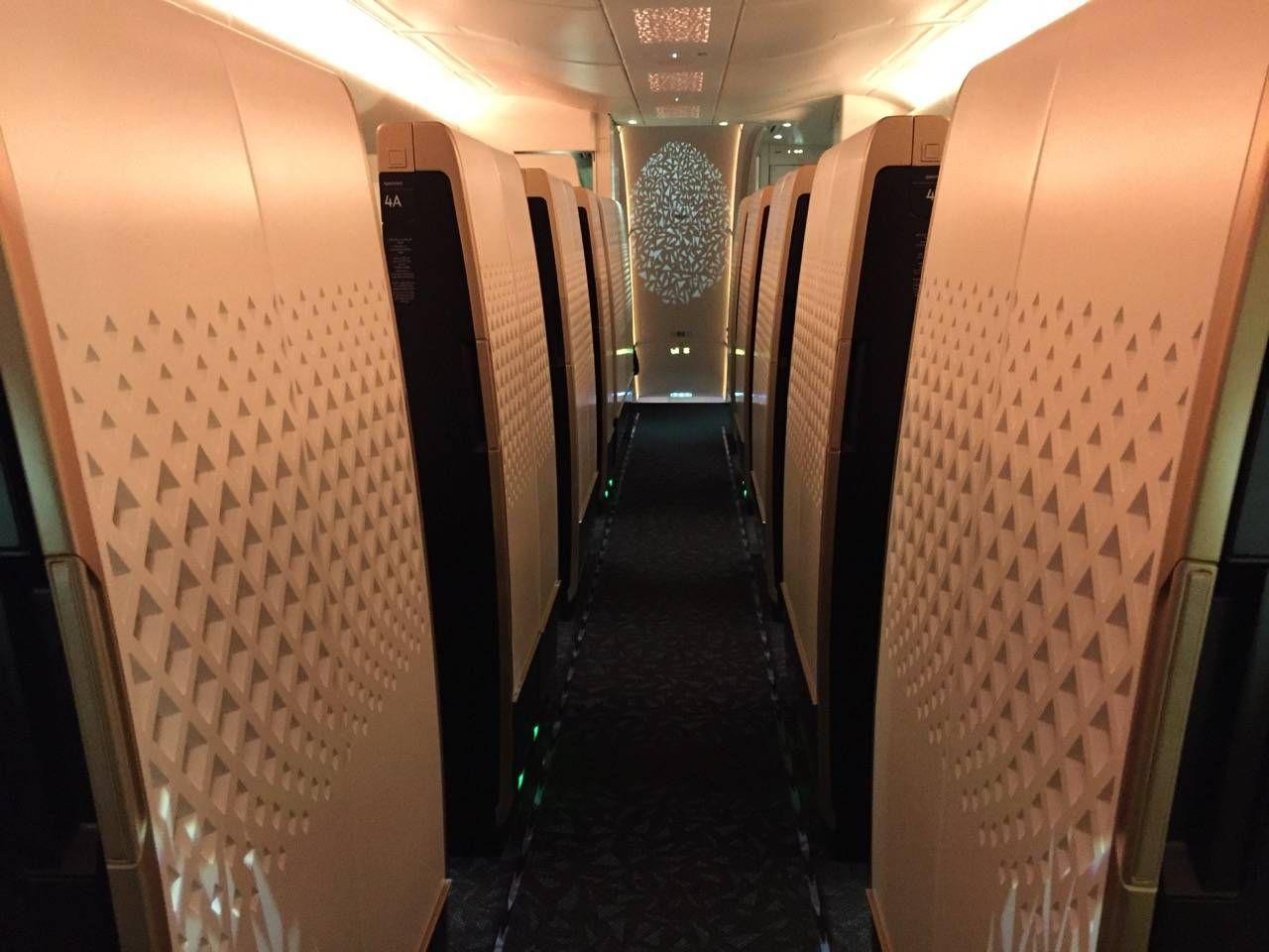 Etihad First Class Apartment Inaugural - AUH-SYD-0112