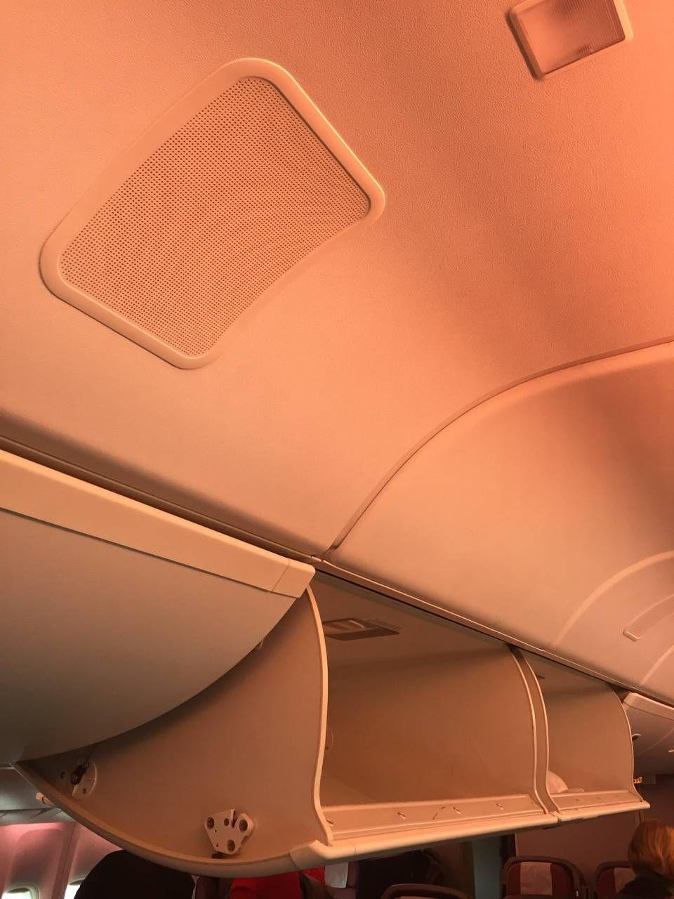 Qantas B747 Business Class-034