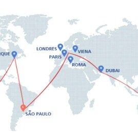 Oneworld possibilita venda de passagens de volta ao mundo em português