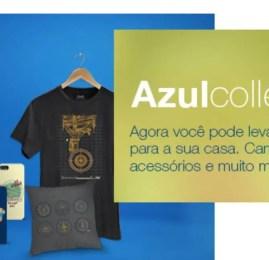 Azul passa a vender itens personalizados da marca pelo site