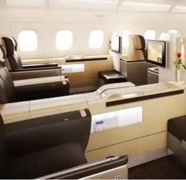 Voe na Primeira Classe da Qatar ou Lufthansa por R$1.750,00