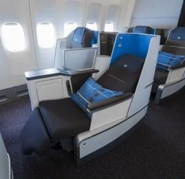 Rio de Janeiro recebe a nova World Business Class da KLM esta semana