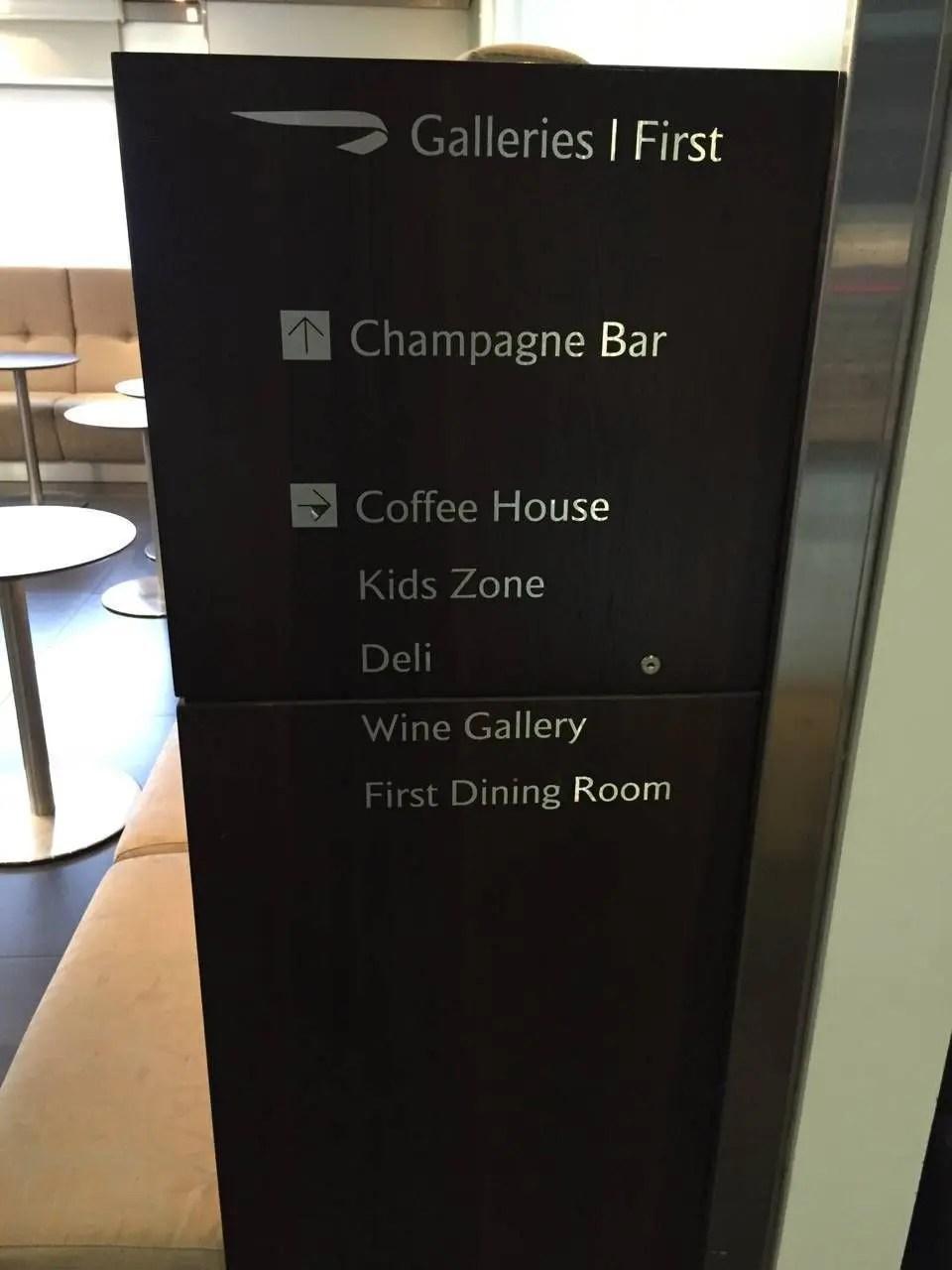 British Airways Galleries Lounge T3-033
