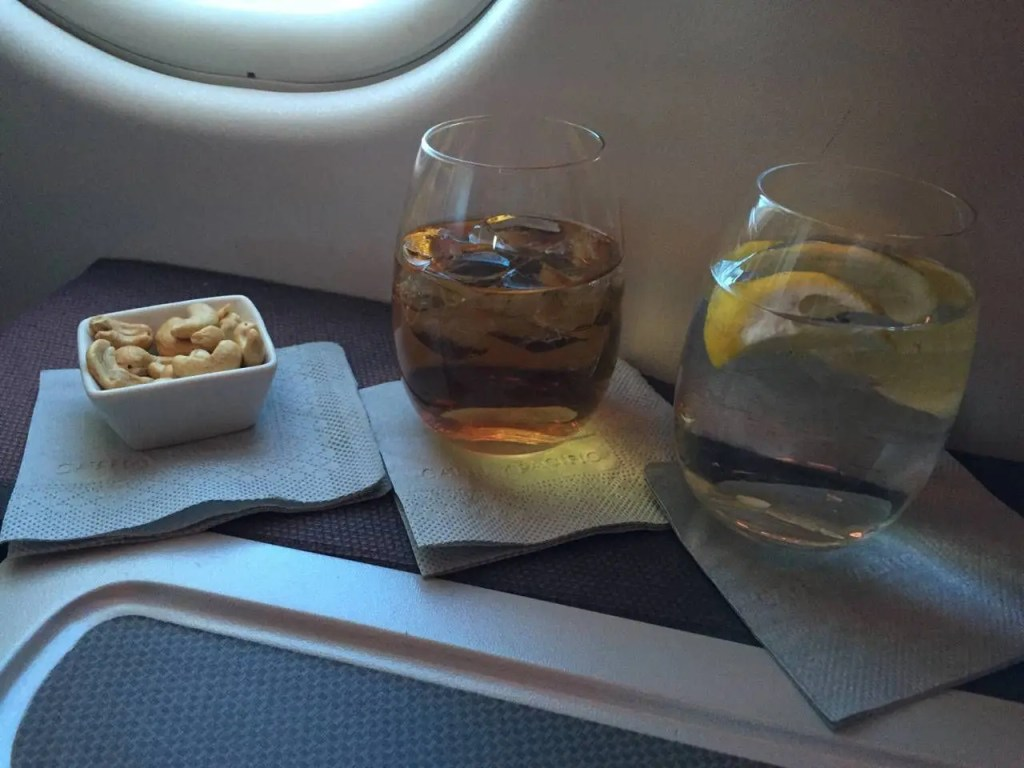 Cathay Pacific A330 Business Class-032