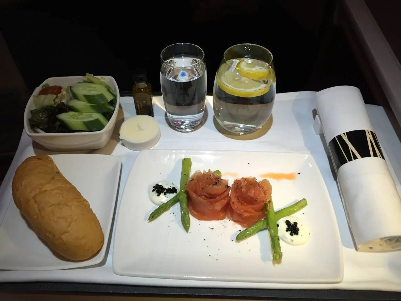 Cathay Pacific A330 Business Class-033