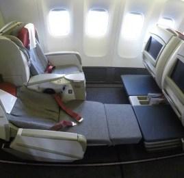 Classe Executiva da TAM no B777-300ER – Miami para São Paulo