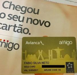 Conheça o novo cartão Amigo Star Alliance Gold da Avianca Brasil