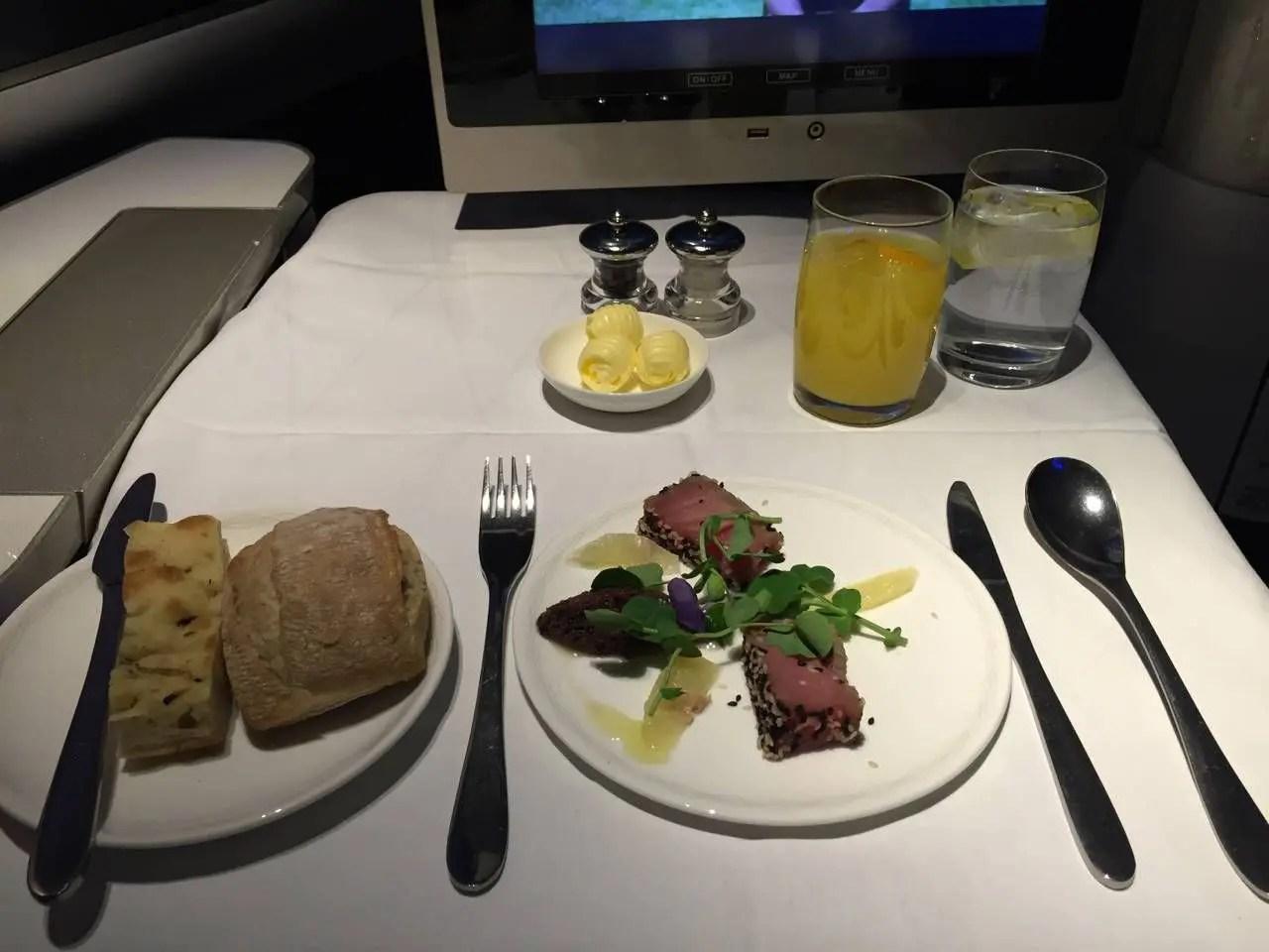 British Airways First Class B747 -025