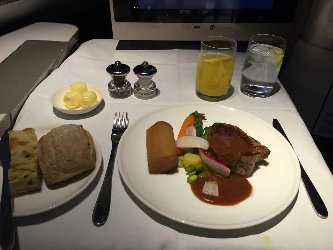 British Airways First Class B747 -027