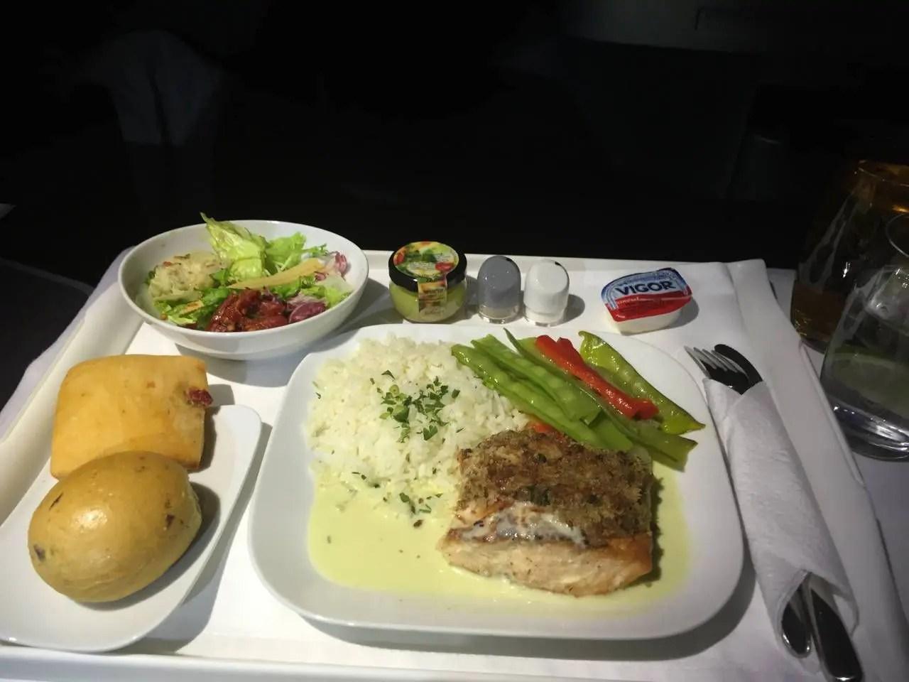 Lufthansa Business Class B747-8-032