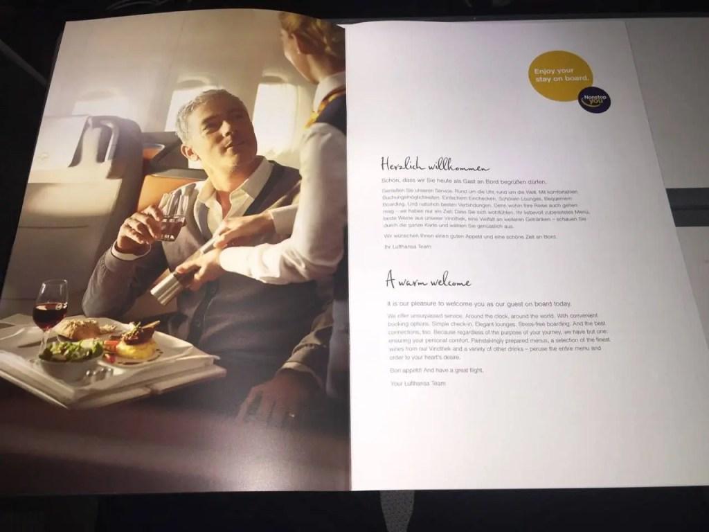 Lufthansa Business Class Executiva B747-8-08
