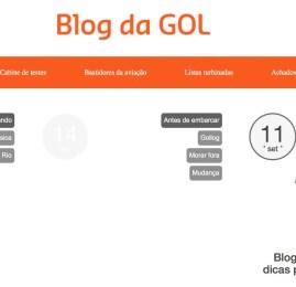 Novo blog da GOL traz informações sobre o universo de viagens