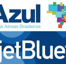 Azul Linhas Aéreas anuncia acordo com a JetBlue para comercializar passagens para mais de 190 destinos