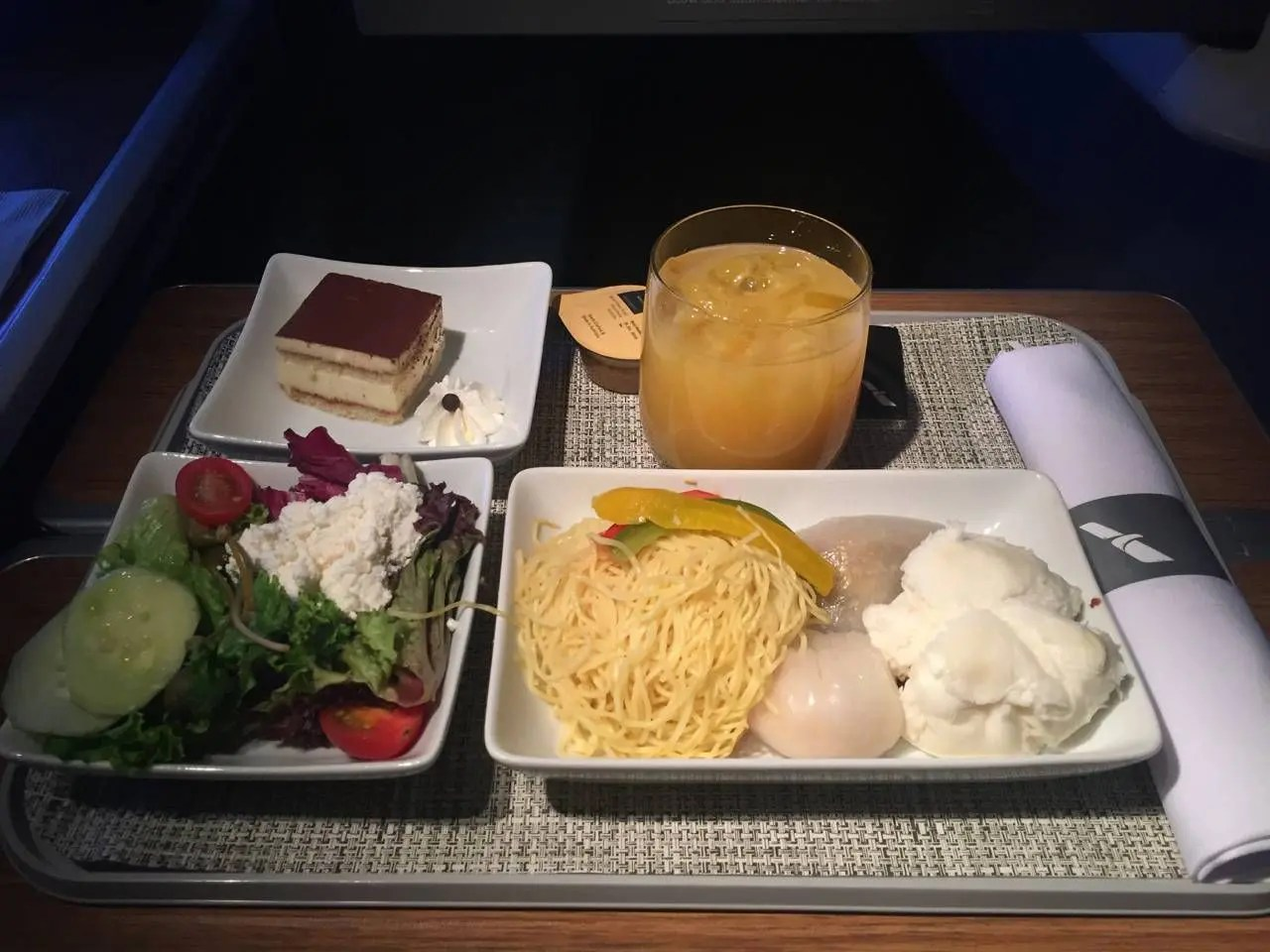 AA Hong Kong Dallas Business Class- - 21