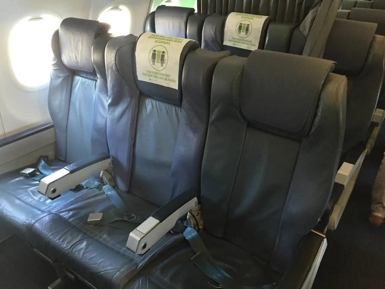 TAP A320 BUSINESS CLASS - 1