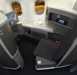 Classe Executiva da American Airlines no B787 – Los Angeles para São Paulo