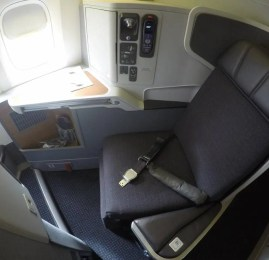 Classe Executiva da American Airlines no B777-300ER – Dallas para Hong Kong