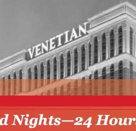 Reserve diárias no Palazzo ou Venetian em Las Vegas com 50% menos pontos