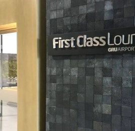 Check-in Air France La Première em Guarulhos e Sala VIP GRU First Class Lounge