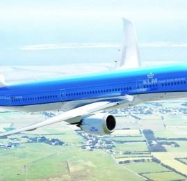 Novo B787 da KLM passa a operar amanhã de/para o Brasil