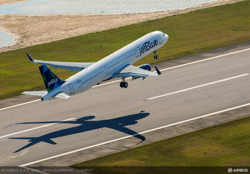Airbus A321 First Flight - Mobile, Alabama FAL